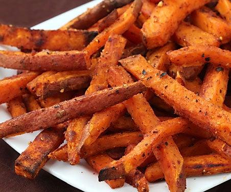 Home Made Sweet Potato Fries