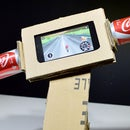 How to Make a Gaming Steering Motorcycle From Cardboard for Smartphone