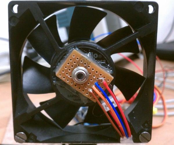 Heat-Seeking Desk Fan (using Arduino)