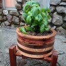 Making a Segmented Turned Planter