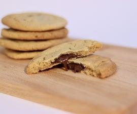 清醒地填充了饼干