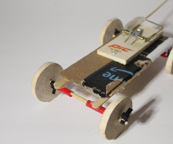 Mouse Trap Car (Made With Recycled Materials)