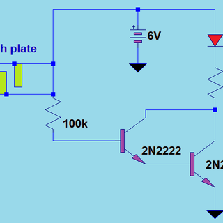 simple touch switch using transistor.png