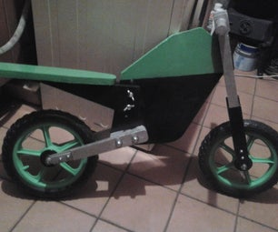 How to Wooden Balance Bike (diary)