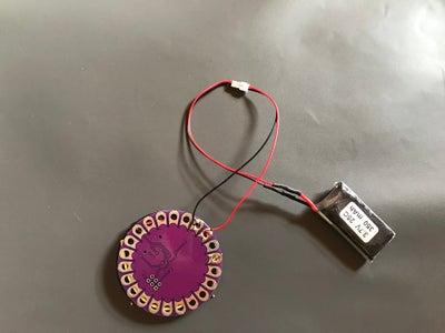 Lipo Battery & Arduino Lilypad Connection
