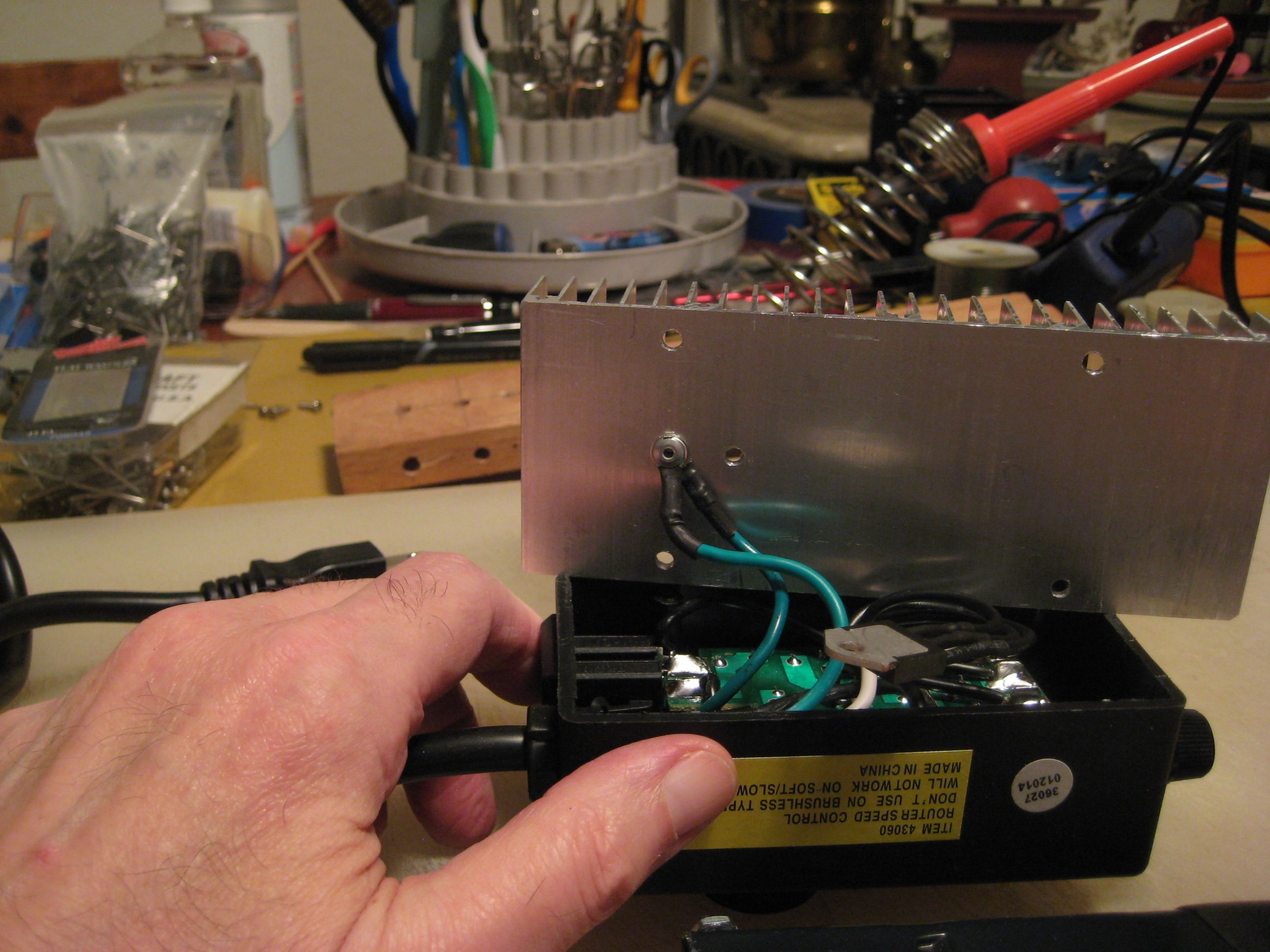 Harbor Freight Router Speed Control Mod With Pictures