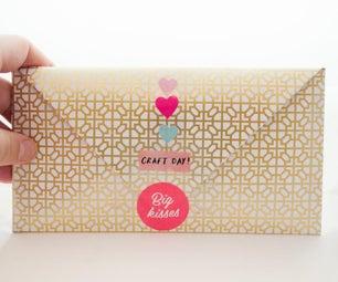 Handmade Envelope and Card