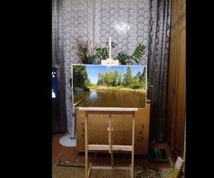 Painting, Molbert, Frame