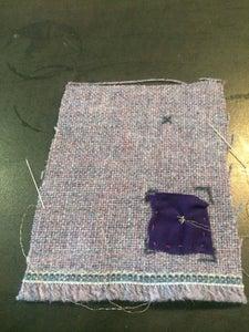Stitch Pocket to Fabric
