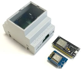 Cabinet Mount for ESP32 and ESP8266