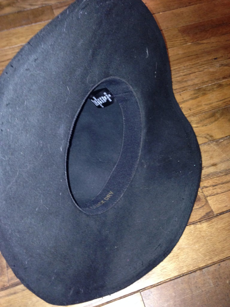 Shaping the Hat Brim
