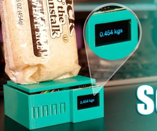 DIY Arduino Smart Digital Scale | ESP8266 + HX711