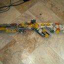 Rage Rifle. High power pump-action rifle