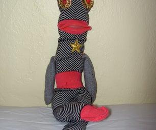 Easy to Sew Sock Monster