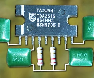 Hi-Fi Stereo Audio Amplifier Circuit Using TDA2616    JLCPCB
