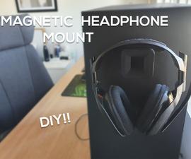 Headphone Mount (Magnetic)