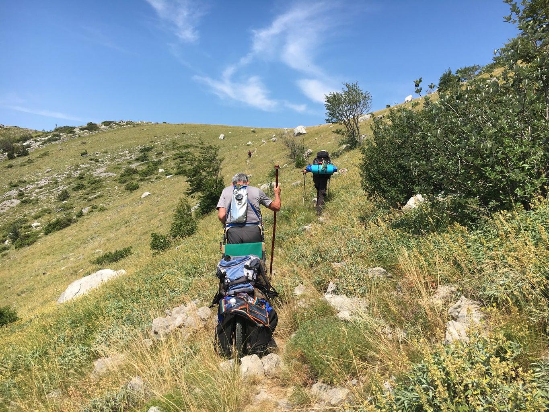 Test on Velebit Mountain 2016
