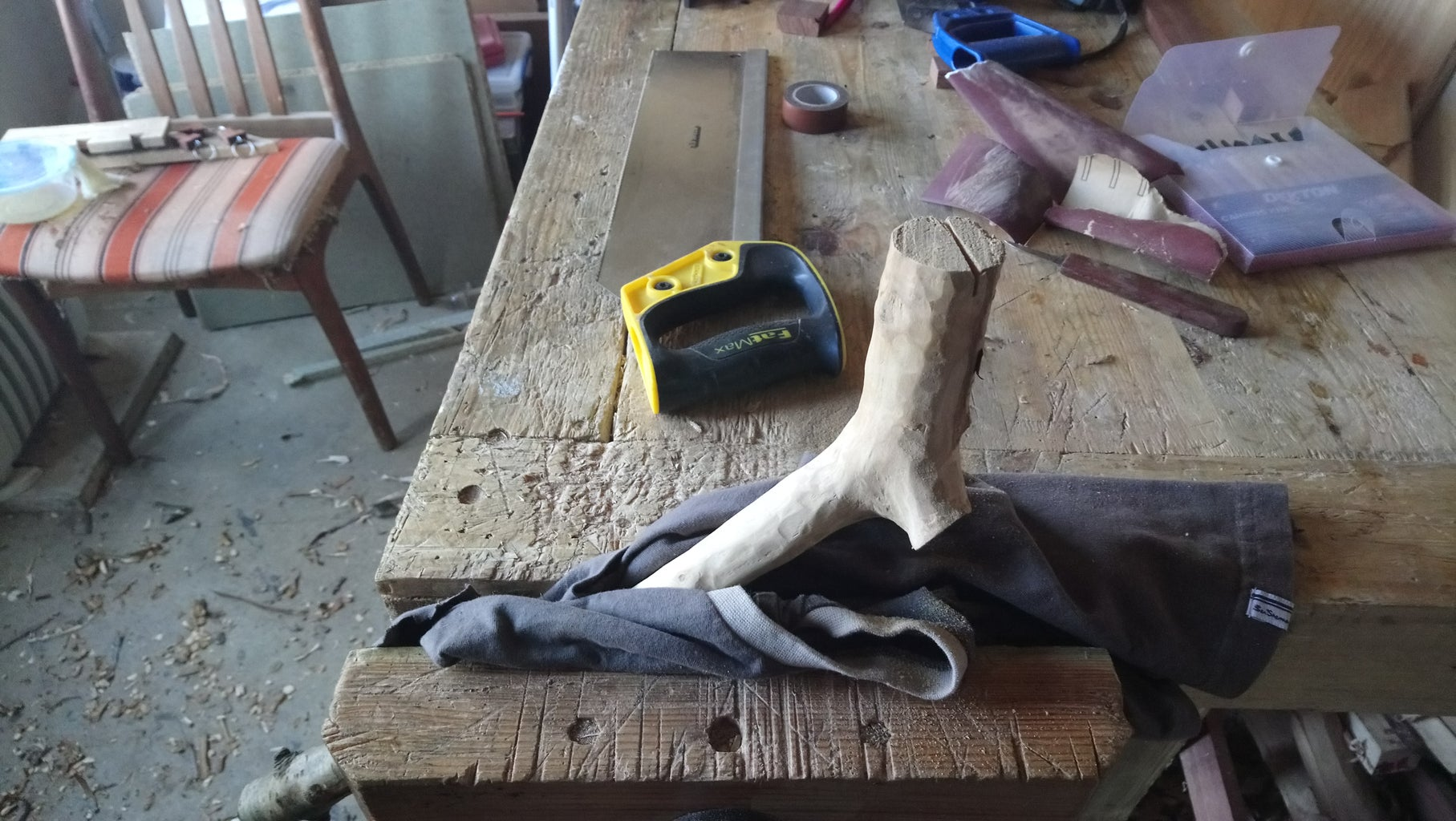 Making the Back and Handle