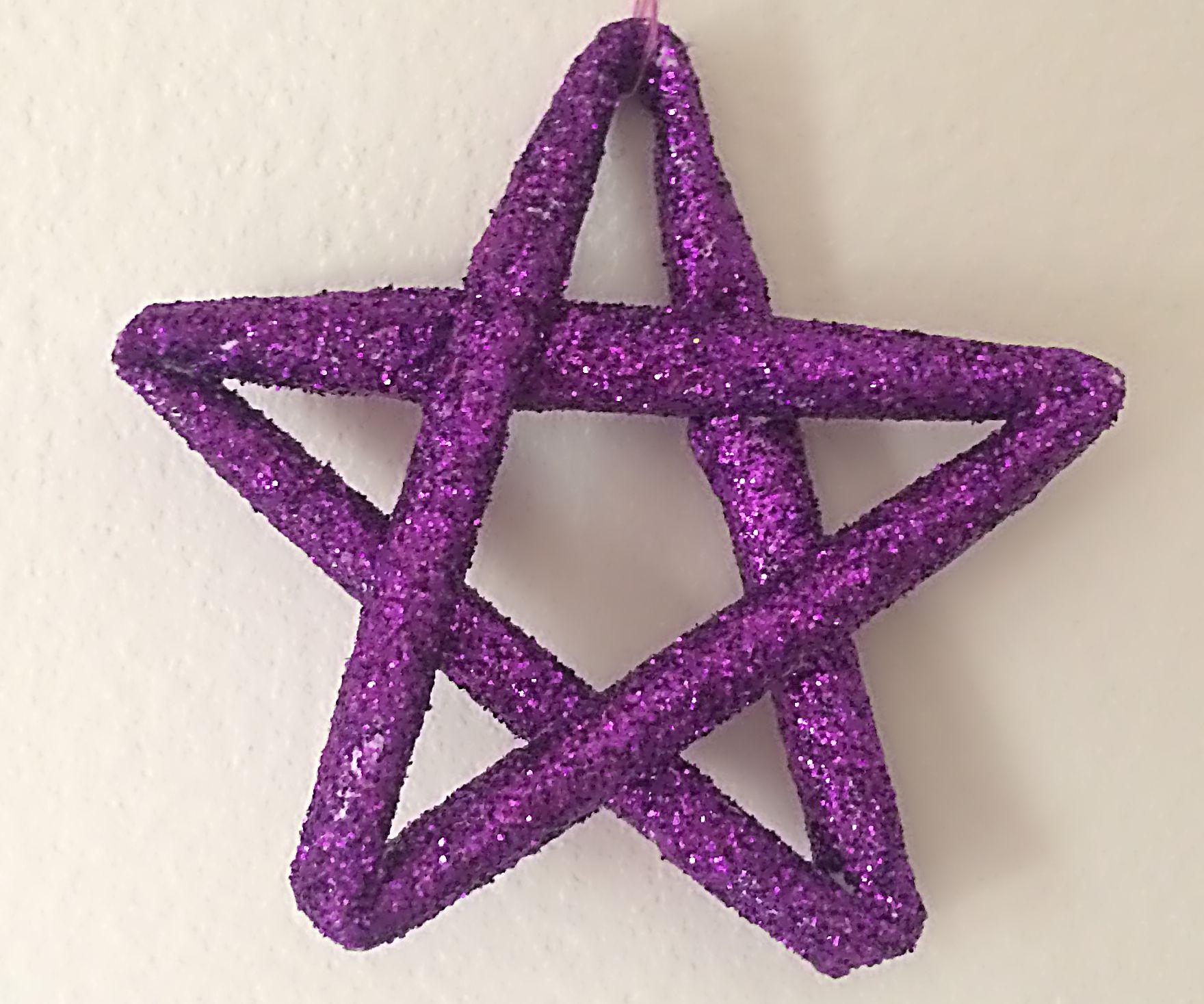 DIY - Christmas Ornaments - Glittering Stars
