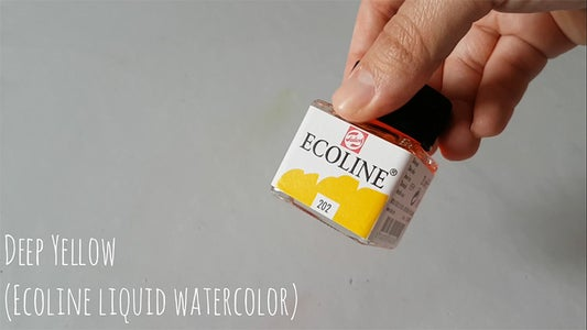 Watercolors Used