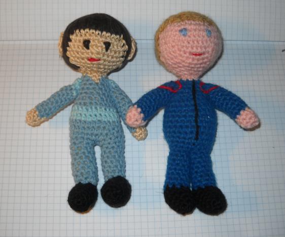 Crochet Star Trek Enterprise Amigurumi Cast (T'Pol)