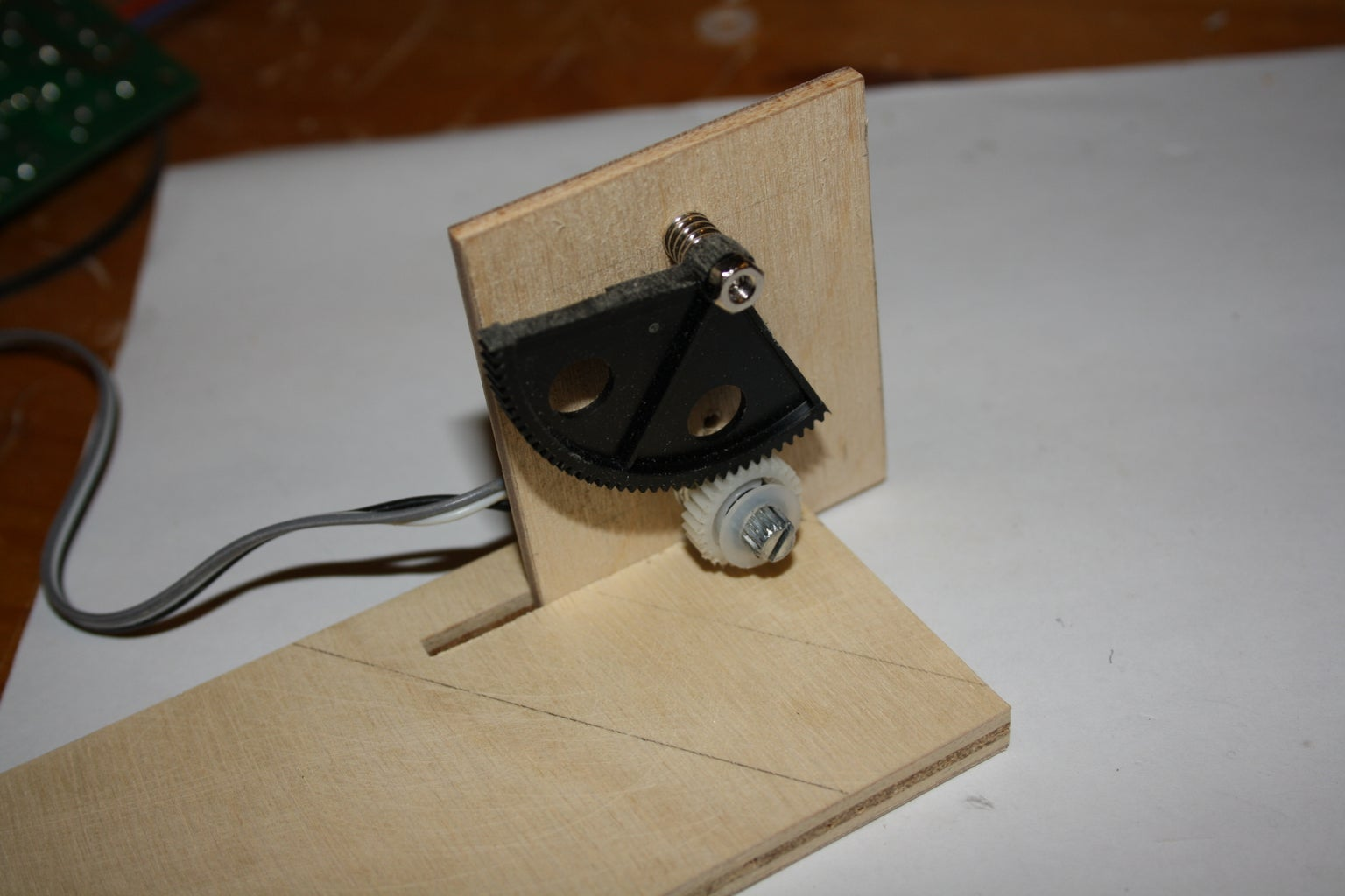The Foot Pedal | Making the Mechanism