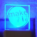 Mini Acrylic Panel Night Light