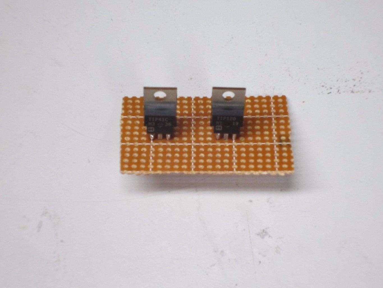 Solder the Transistors