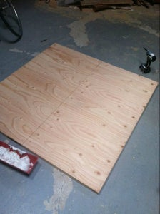 Constructing the Backing Panel
