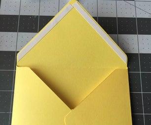 Make Your Own Envelope Using Envelope Punch Board