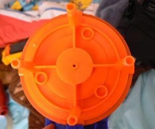 Nerf Gun Blaster From Water Gun Shoots Real Far