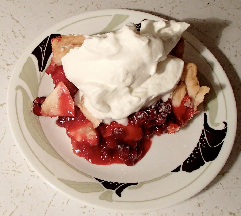Eyebrow-raising Wild Cranberry Pie
