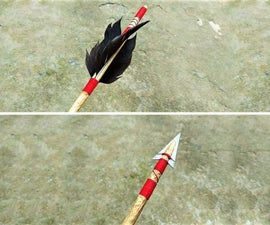 Traditional Wooden Arrow