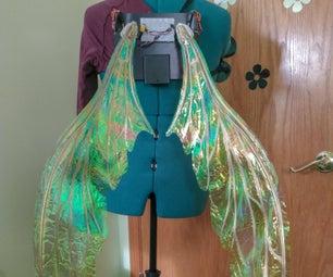 运动激活的Cosplay翅膀使用电路游乐场快速 - 第2部分
