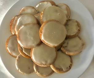 Brown Butter Spiced Maple Cookies