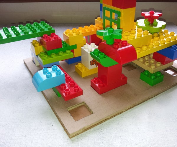 Easy-to-made Baseplate for Lego Duplo