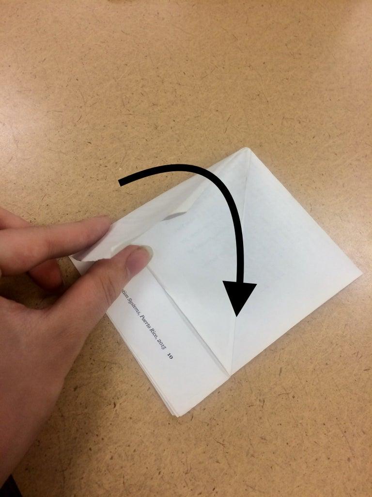 Fold Flap Back Over