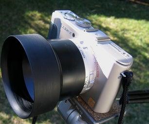 Digital Camera Lens Hood / Rain Hood