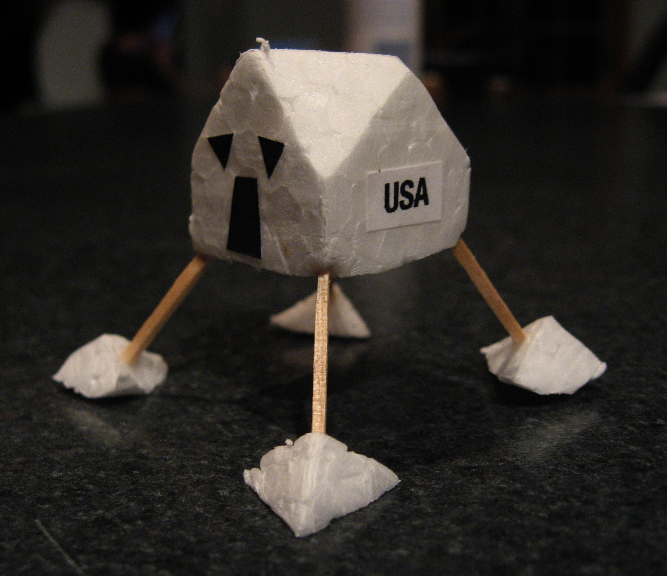 Lunar Module flying toy - 40th Anniversary of Apollo 11