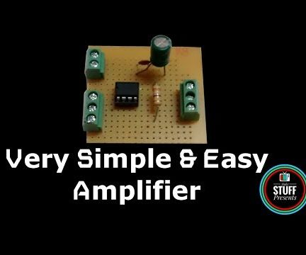 How to Make Simple & Easy Amplifier Using LM386 With High Gain
