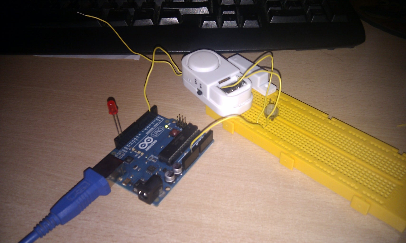 Conexion De Sensor De Alarma Para Ventana O Puerta Con Arduino