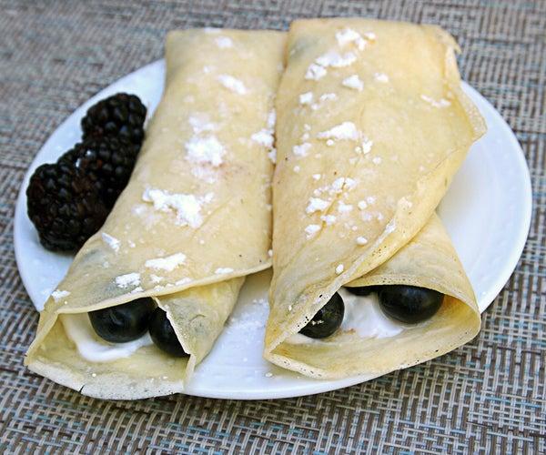 Light & Delicious Healthy Crepes Recipe