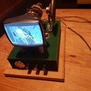 Make a Steam Punk CRT Monitor From an Old TV