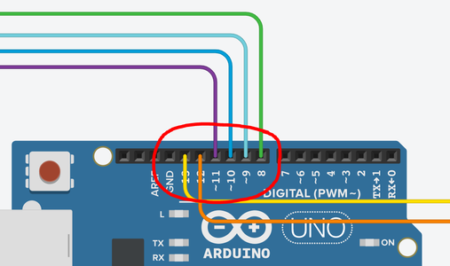 LCD Connections