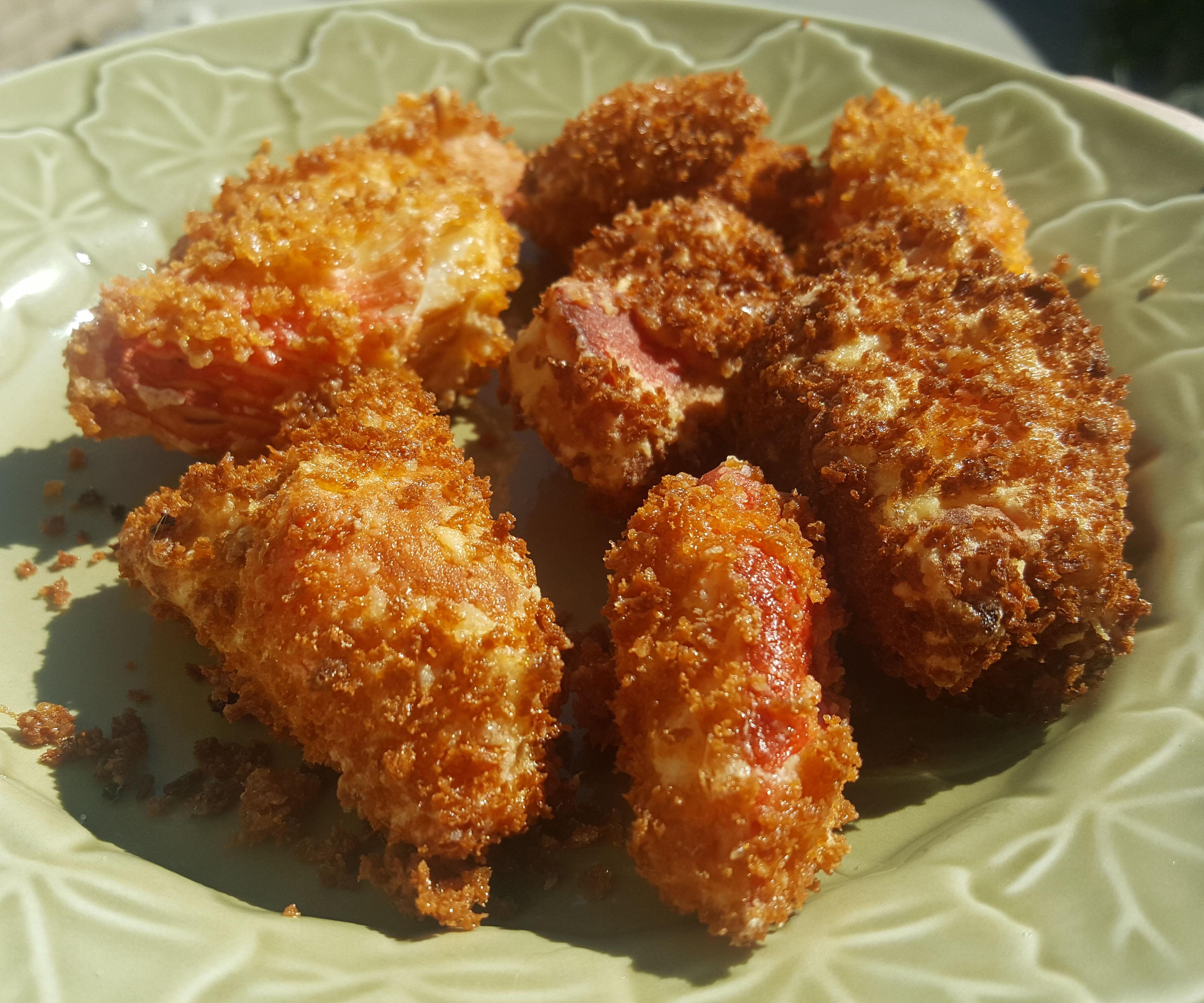Fried Jaiba Sticks