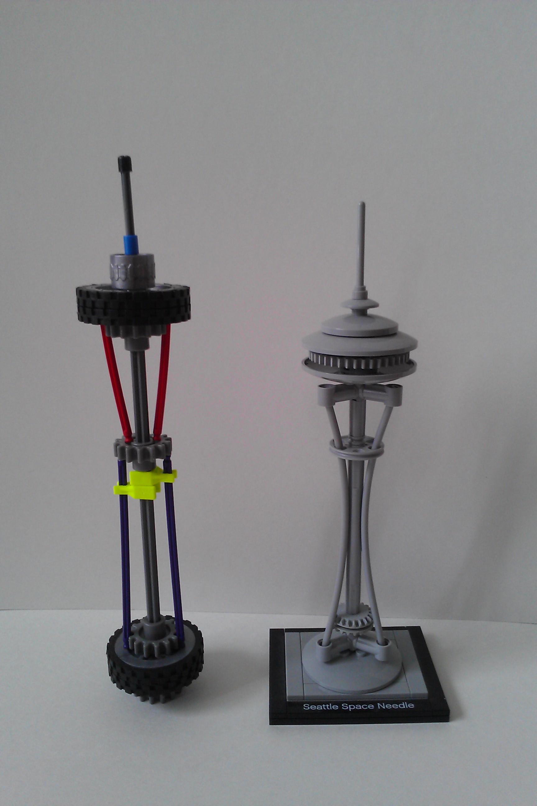 K'nex Seattle Space Needle V2