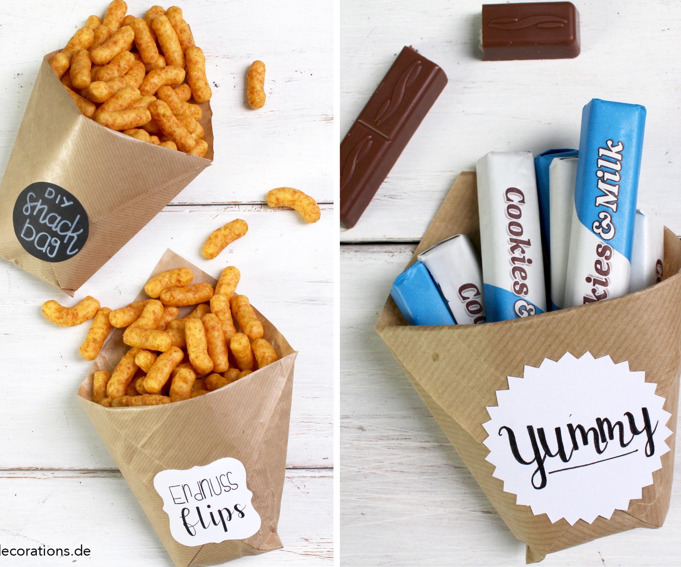 DIY Snack Bags