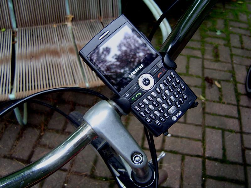 Quick & Dirty Bicycle Phone Mount