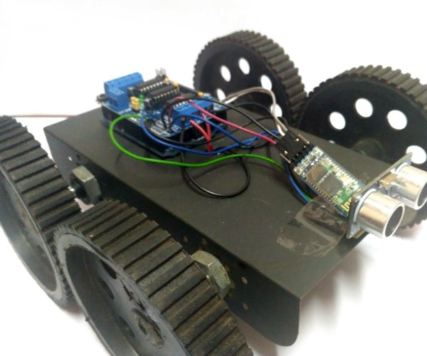 Obstacle Avoiding Robot Using Arduino Uno