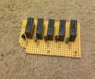 Simple DIY Christmas Light Controller